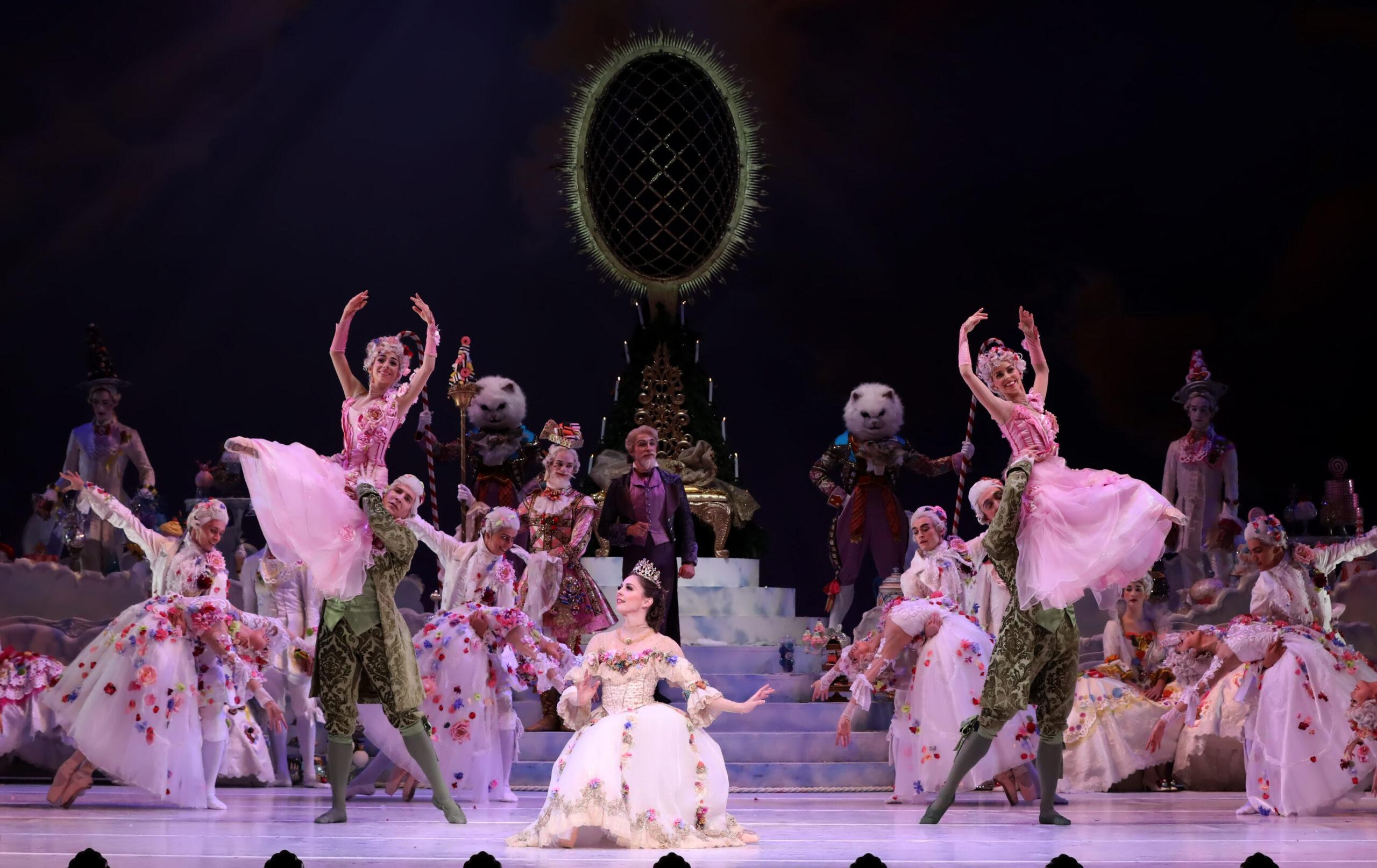Artists of Houston Ballet in Stanton Welch's The Nutcracker. Photo by Amitava Sarkar (2019), Courtesy of Houston Ballet